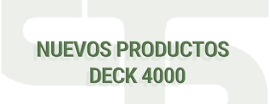 49.1 NUEVOS PRODUCTOS - DECK 4000: LA PAREJA DIOXOLANO Y METILAL