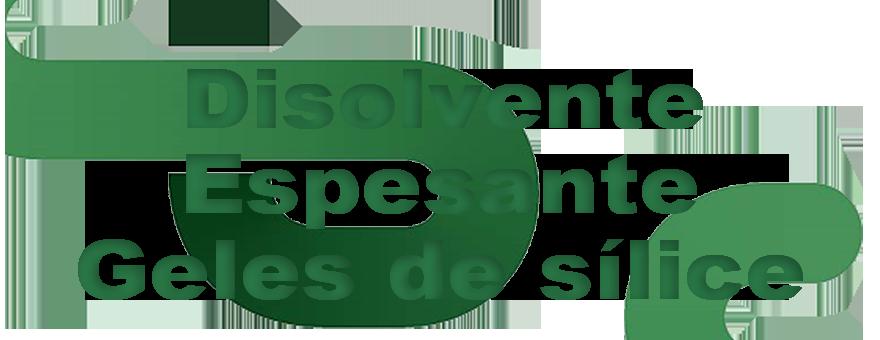 Disolvente/Espesante/Geles de sílice