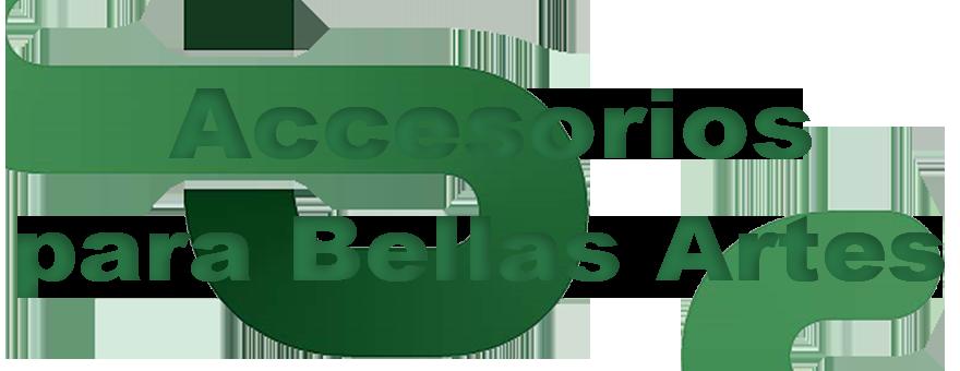 Accessorios para bellas artes