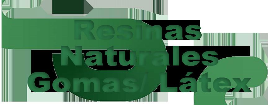 Resinas Naturales/Gomas/ Látex