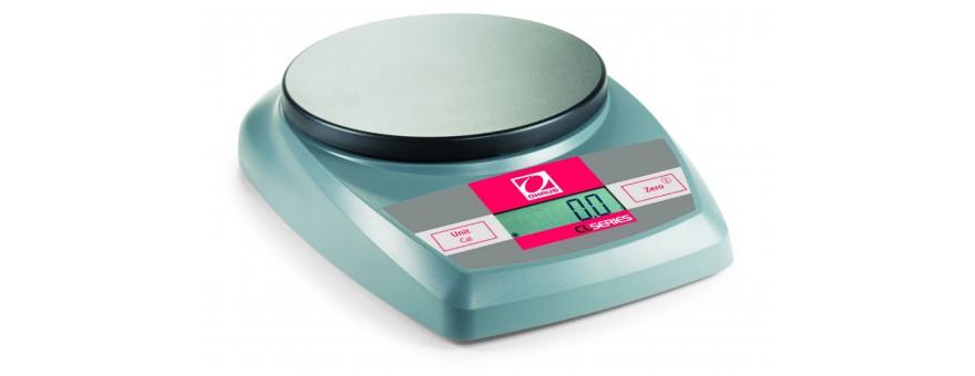 BALANZAS ELECTRÓNICAS MOD. CL 501 - CL 2000 - CL 5000 OHAUS
